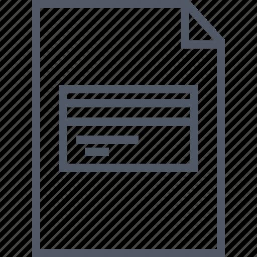 business, card, debit, document, money icon