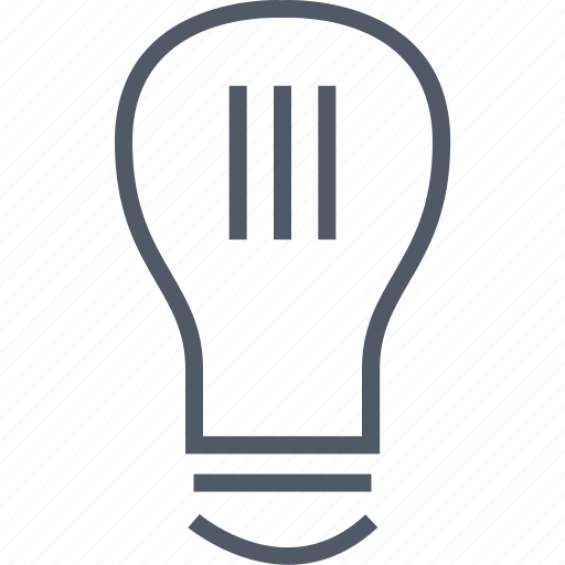 bulb, business, idea, light, money icon
