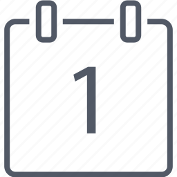 business, calendar, date, number icon