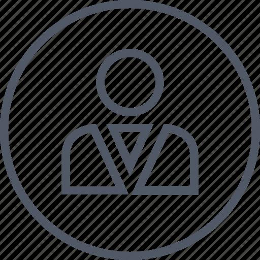 business, person, staff, user icon