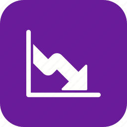 business, business fall, financial, graph, low business, statistics icon