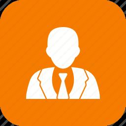avatar, businessman, person, profile icon
