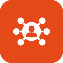 business, data, network, server, share, sharing icon