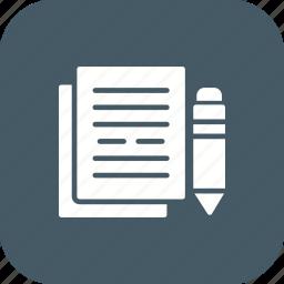 business, document, documentation, documents, files, folder, sheet icon