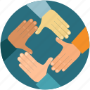 cooperation, partner, partnership, team, teamwork