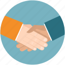 business, cooperation, hand, handshake, partner, partnership icon