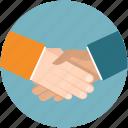 business, cooperation, hand, handshake, partner, partnership