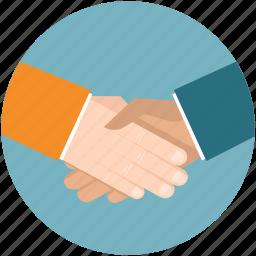 business, cooperation, hand, handshake, partner, partnership icon