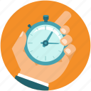 business, clock, hand, management, time, watch icon