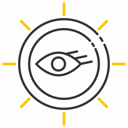 Seeing, sight, spyglass, vision, search, business, eyes icon - Download on Iconfinder