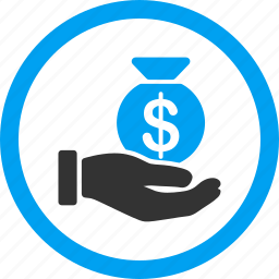 bank, cash payment, dollar, finance, money, pay, salary icon