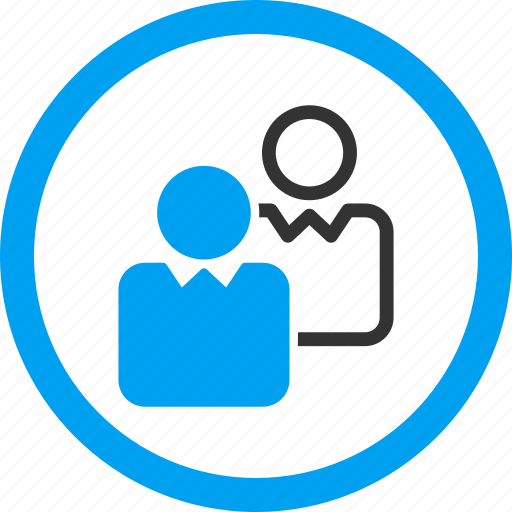 clients, company, customer group, customers, forum, people, users icon