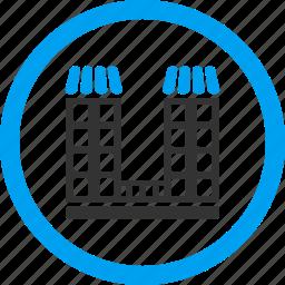 company building, home, house, office, organization, real estate, skyscraper icon