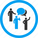 chat, communication, community, conference, forum, persons, talk icon
