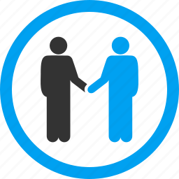 agreement, business, contract, cooperation, handshake, hello, persons icon