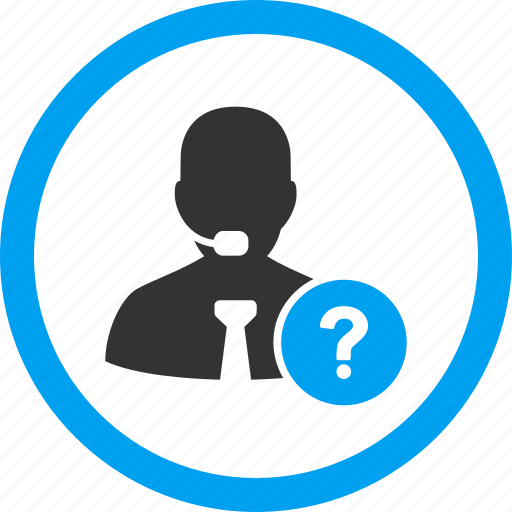 help, manager, online, question, secretary, service, support icon