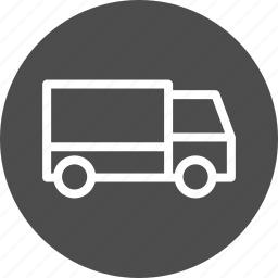 automobile, delivery, logistics, lorry, shipment, traffic, transport, transportation, truck, vehicle icon