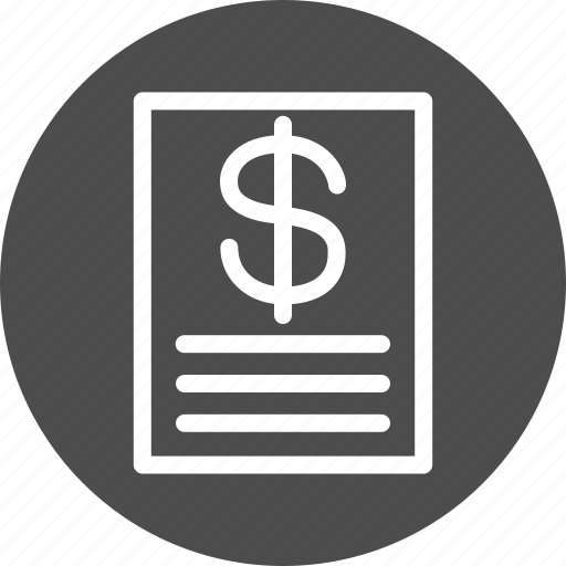 cheque, invoice, list, price, prices icon
