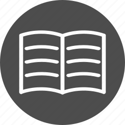 book, document, notes, records, reports icon