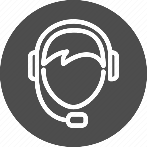 operator, service, support icon