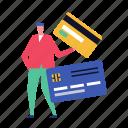 credit, card, bank, finance, budget