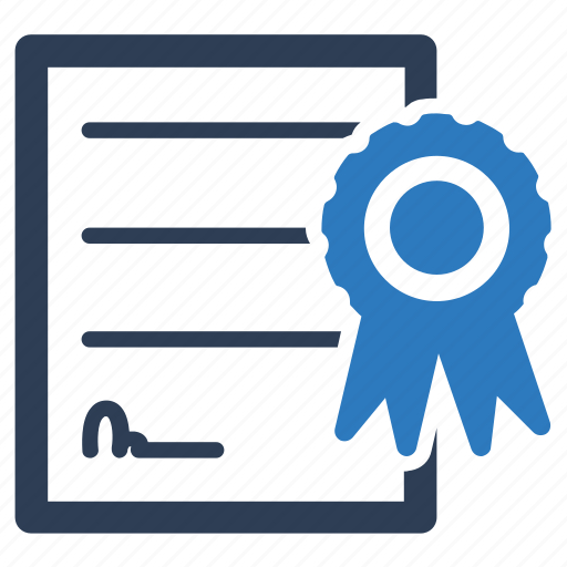 Certificate, certification, degree, diploma, licence icon - Download on Iconfinder