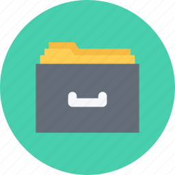 business, businessman, file, optimization, seo, site, storage icon