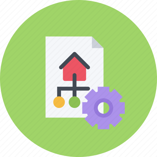 business, businessman, optimization, seo, site, structure icon