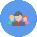 business, businessman, optimization, seo, site, team icon