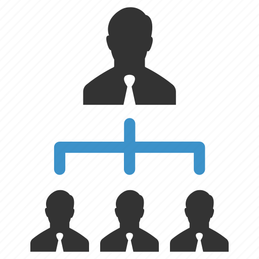 businessmen, connection, group, hierarchy, management, team, users icon