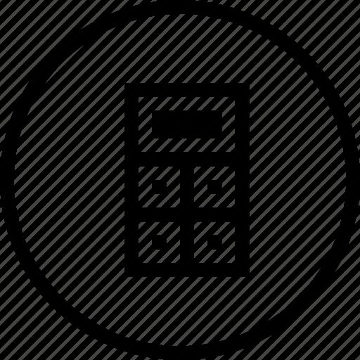 calc, calculation, calculator, key, operate, operation, operations icon