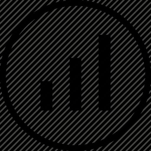 analysis, chart, column, graph, roductivity, sales, statics icon