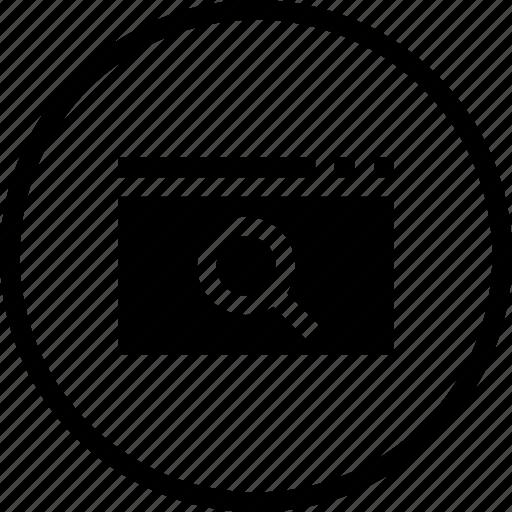 analysis, engine, find, optimization, search, statics, window icon