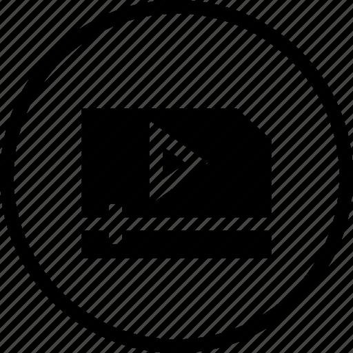 design, film, maker, media, play, video, videography icon