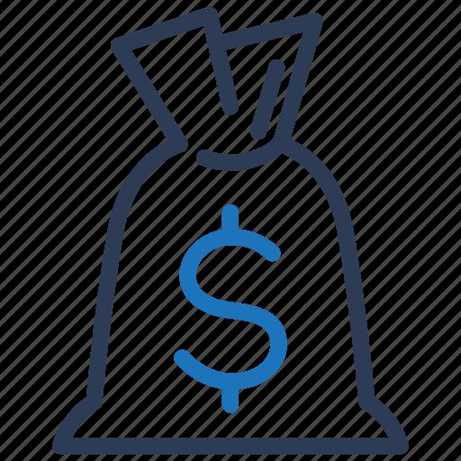 bag, cash, money icon