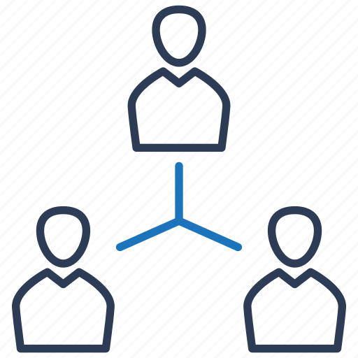leader, management, organization, teamwork icon