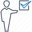 approved, business, done, task icon