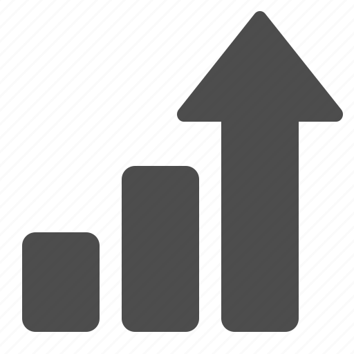 Arrow, business, chart, graph, growth, investment, profit icon - Download on Iconfinder