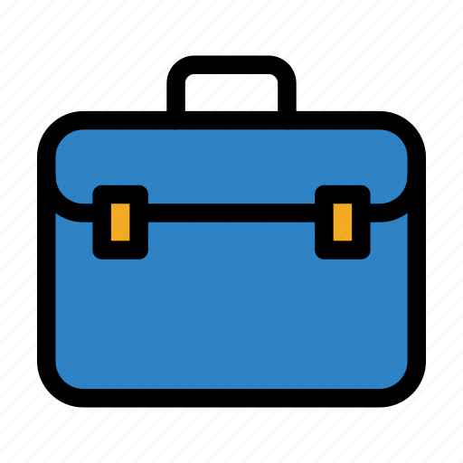 briefcase, finance, investment, suitcase icon