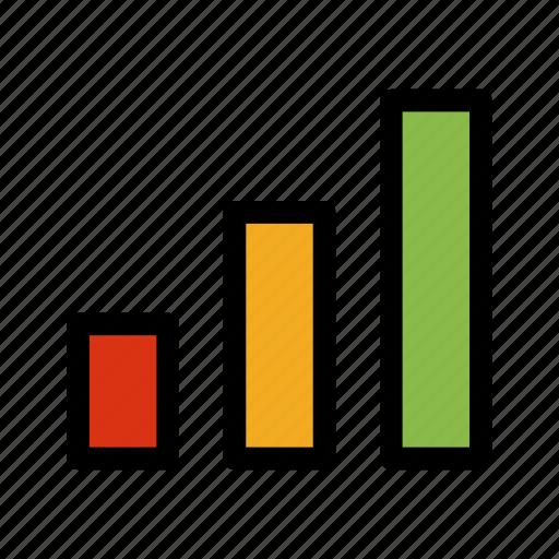 analytics, bar, chart, statistics icon