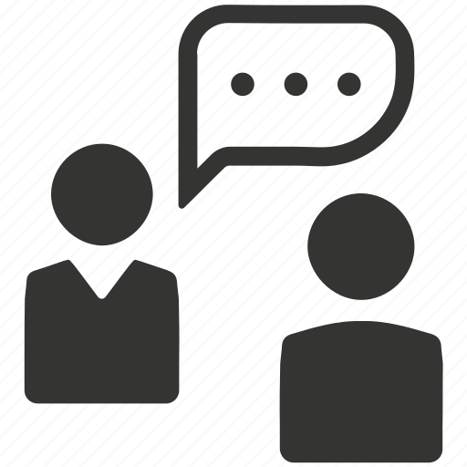 business, chat, conversation, speech icon