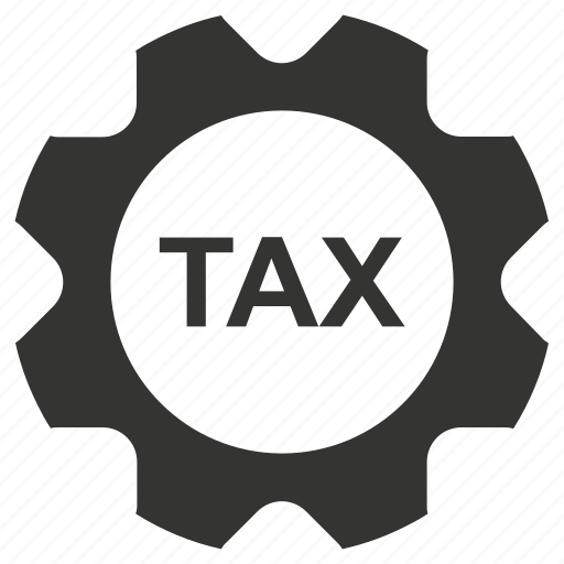 gear, service, tax, vat icon