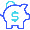 25px, bank, iconspace, piggy icon