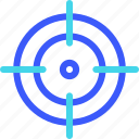 25px, iconspace, target icon
