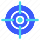 25px, iconspace, target
