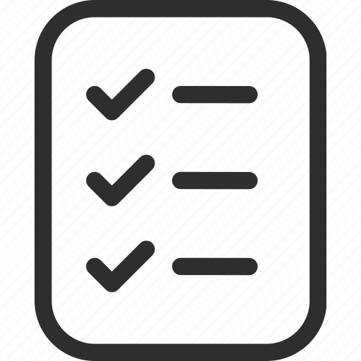 25px, book, checklist, document, iconspace, list icon