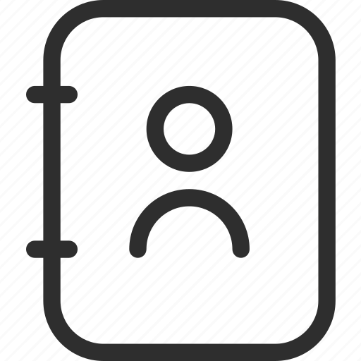 25px, book, communication, iconspace, mobile, phone icon