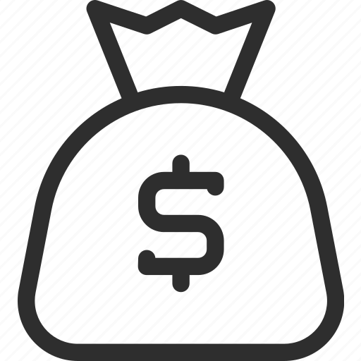 25px, bank, finance, iconspace, money, payment, pouch icon