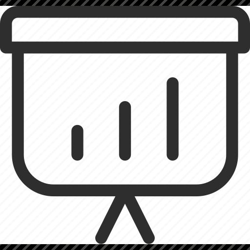 25px, bar, business, finance, iconspace, marketing, presentation icon