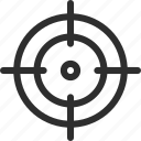 25px, aim, business, goal, iconspace, marketing, target icon